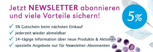 Newsletter Anmeldung Linsenland Vorteile