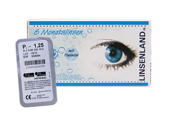 Linsenland Kontaktlinsen (Einzellinse)