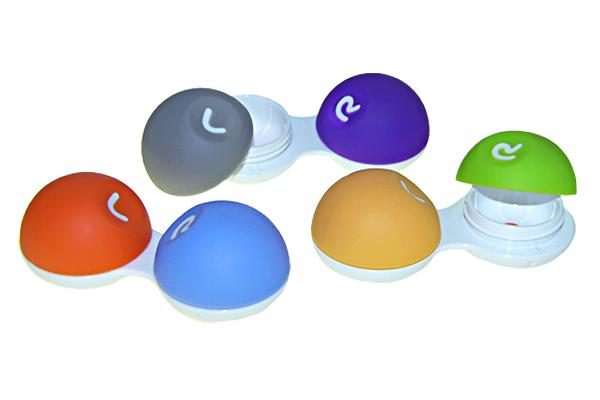 EYE CARE Kontaktlinsenbehälter Soft Grip