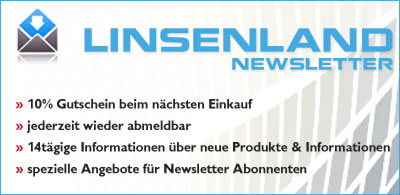 Linsenland Newsletter anmelden und Vorteile nutzen