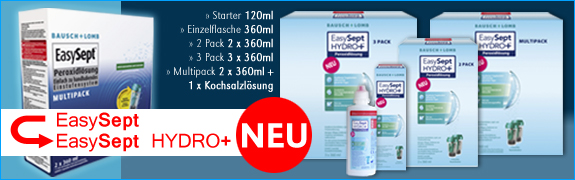 Der NEUE praktische Spar - Valuepack von ALCON besteht aus einem Vorratspack OPTI-FREE PureMoist (2 x 300ml) Pflegemittel, dem OPTI-FREE PureMoist Travel Pack (90 ml) sowie 2 x 6 Monatslinsen AIR OPTIX.