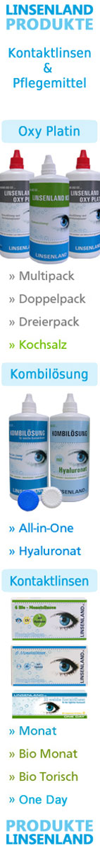 Top Angebote von Linsenland Kontaktlinsen und Pflegemitteln