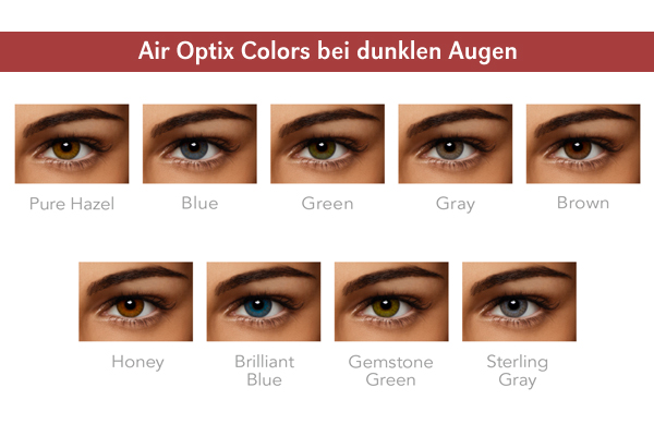 Air Optix Colors - dunkle Augen