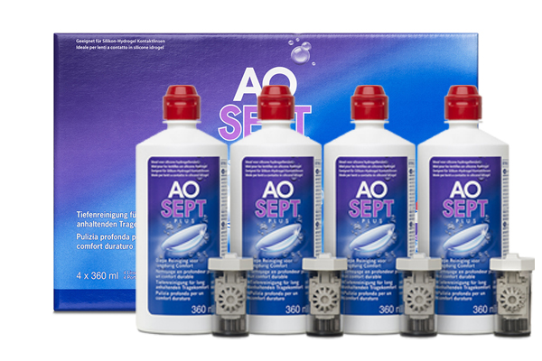 AOSept Plus 4x360ml Systempack