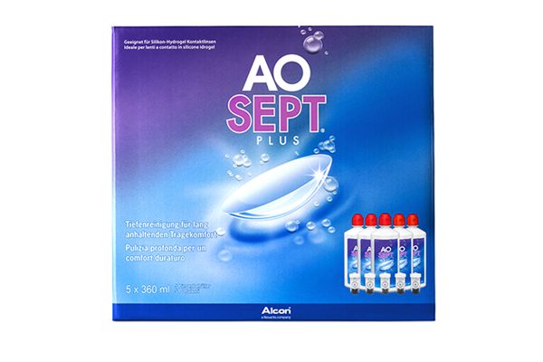 AOSEPT Plus 5x360ml Sparpack