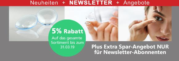 Kontaktlinsen Newsletter März 2019