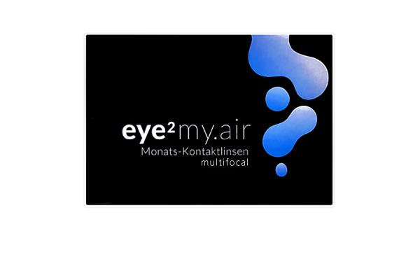 neues modische Muster neuer Stil & Luxus Eye2 My Air Multifocal 3er | multifokale Kontaktlinsen