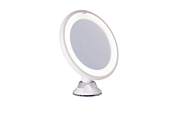 led spiegel 10 fach schminkspiegel mit beleuchtung. Black Bedroom Furniture Sets. Home Design Ideas