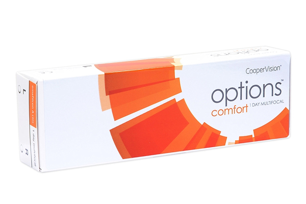 Options Comfort one day multifocal CooperVision Tageslinsen