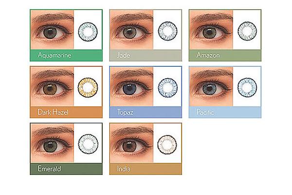 fairer Preis attraktiv und langlebig abwechslungsreiche neueste Designs SofLens Natural Colors | 2 farbige Monatslinsen von Bausch ...